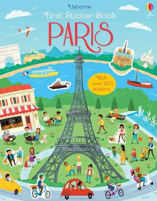 First Sticker Book Paris