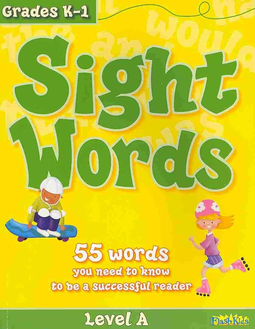 Sight Words: Level A (Flash Kids Workbooks)