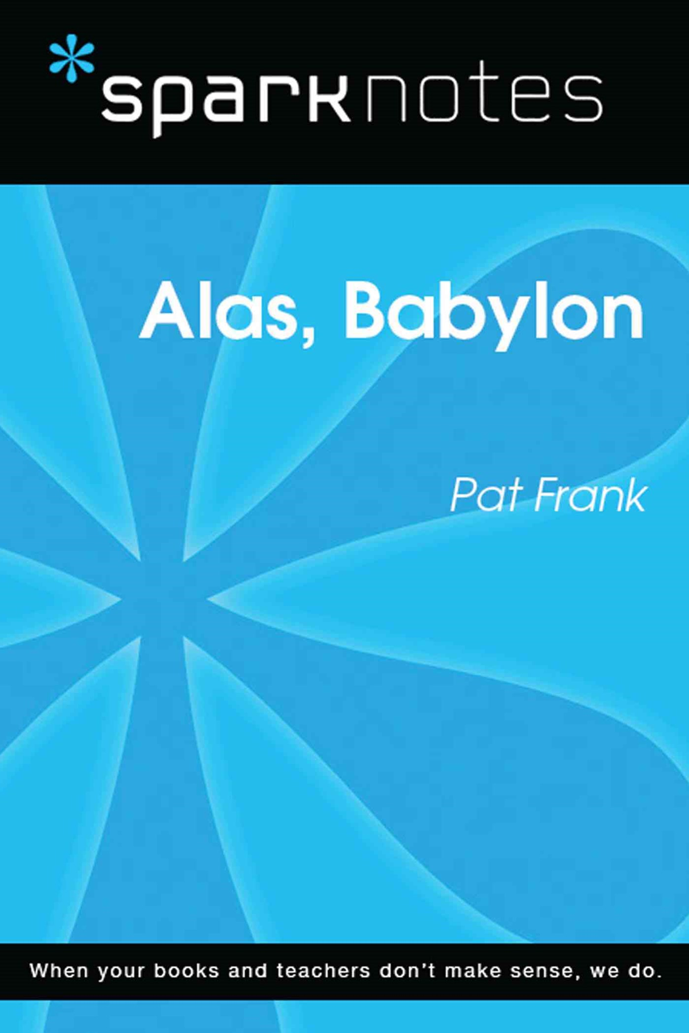 (ebook) Alas, Babylon (SparkNotes Literature Guide)