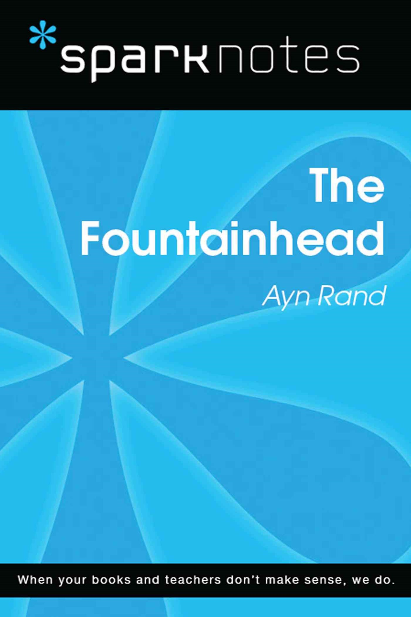 (ebook) The Fountainhead (SparkNotes Literature Guide)