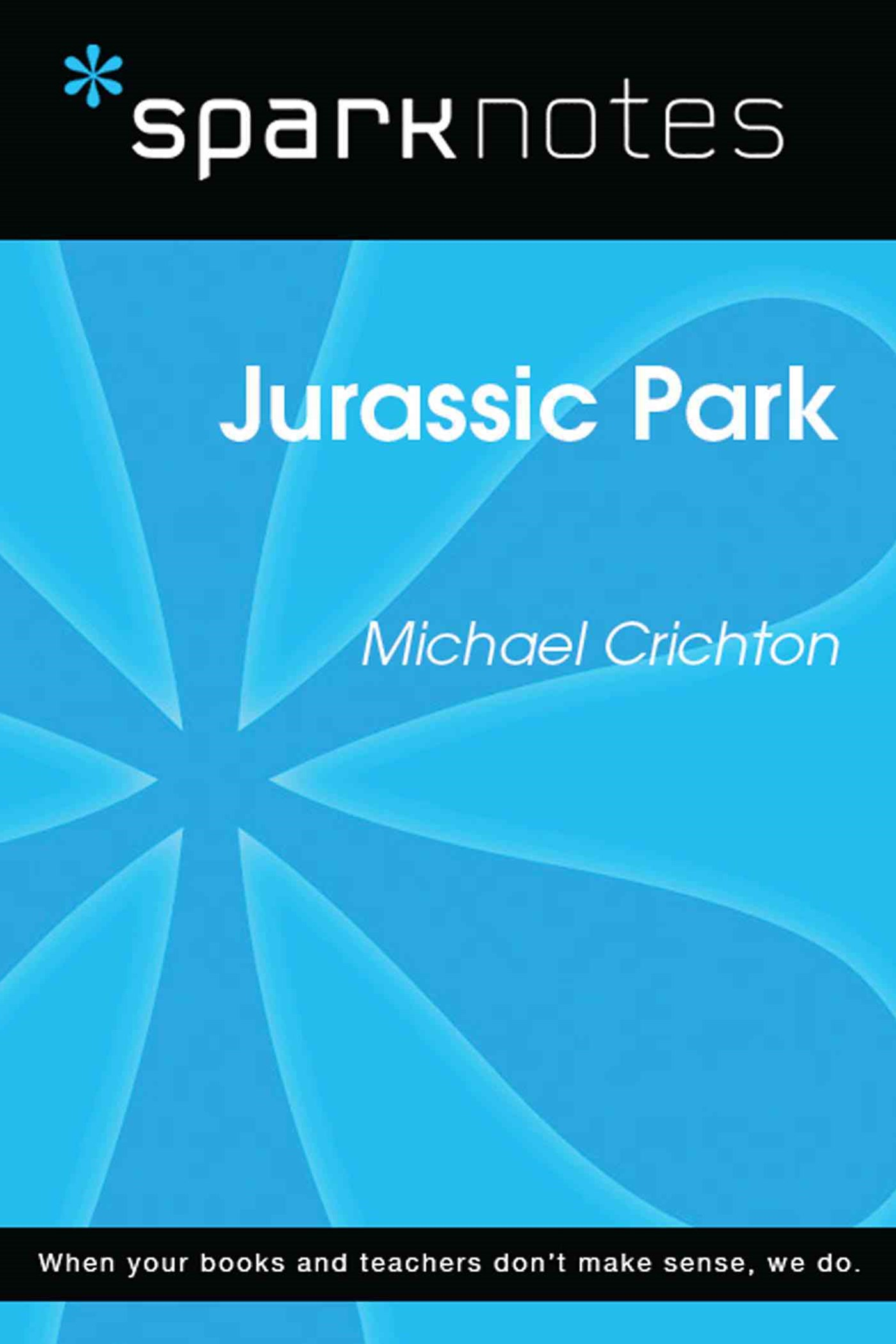 (ebook) Jurassic Park (SparkNotes Literature Guide)