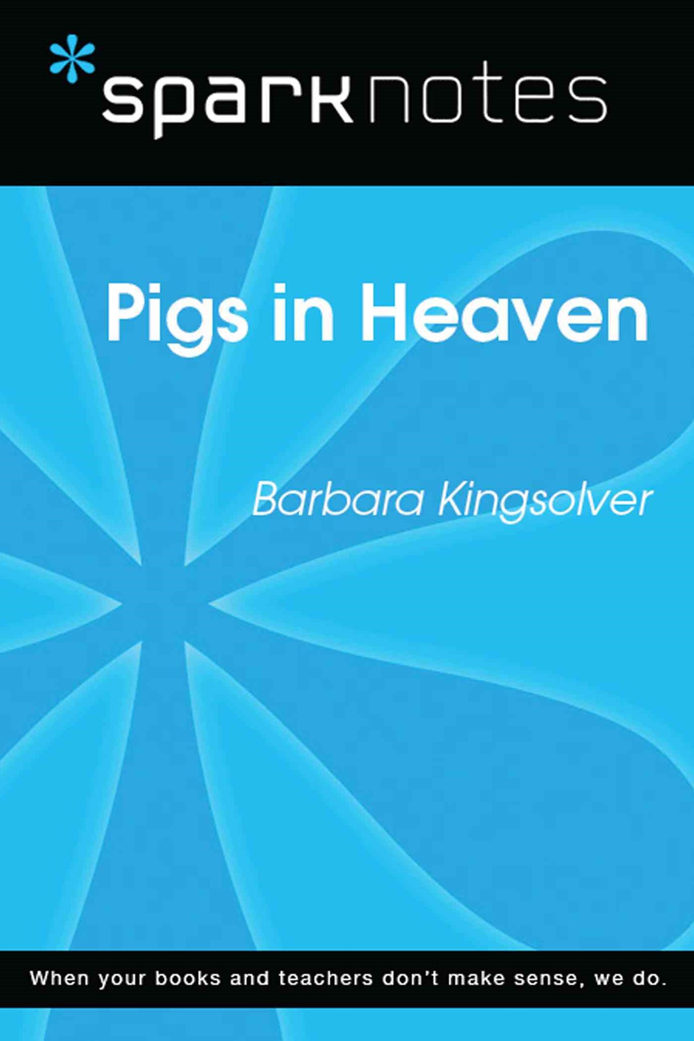 (ebook) Pigs in Heaven (SparkNotes Literature Guide)