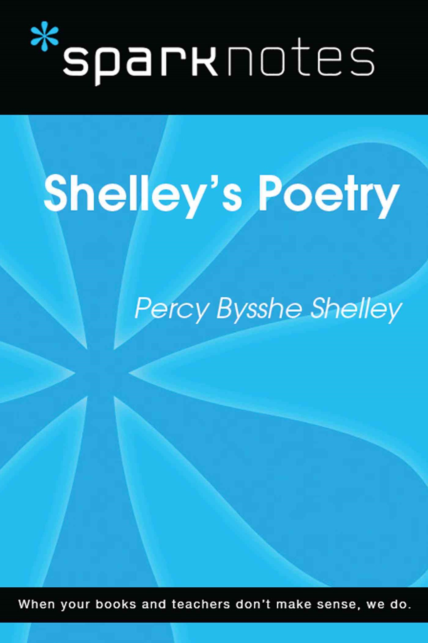 (ebook) Shelley's Poetry (SparkNotes Literature Guide)