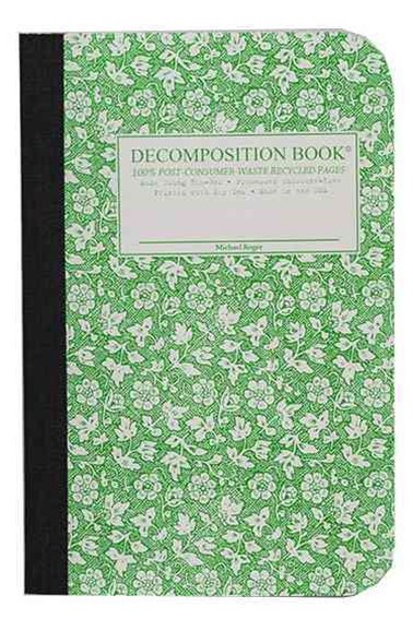 Decomposition - Notebook - Ruled - Pocket - Parsley