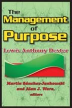 Management of Purpose