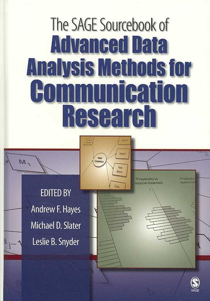 Advanced Data Analysis Methods for Communication Research