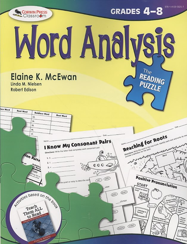 Word Analysis,Grades 4-8
