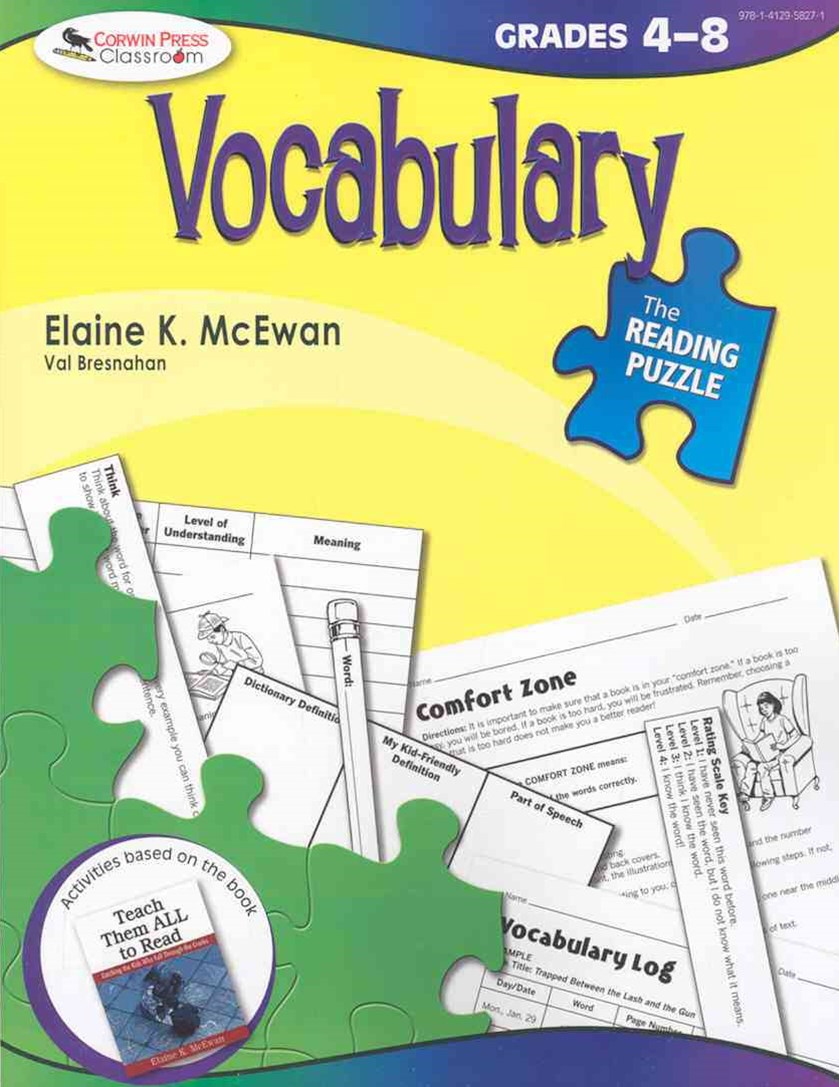 Vocabulary, Grades 4-8