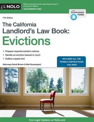 California Landlord's Law Book, the: Evictions