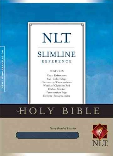 Slimline Reference Bible-NLT