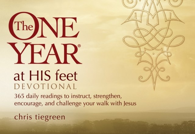 One Year at His Feet Devotional
