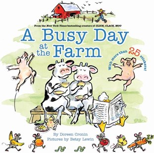 A Busy Day at the Farm by Doreen Cronin, Betsy Lewin (9781416955184) - PaperBack - Children's Fiction Older Readers (8-10)