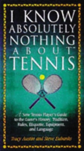 (ebook) I Know Nothing About Tennis