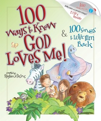 (ebook) 100 Ways to Know God Loves Me, 100 Songs to Love Him Back