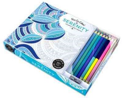 Serenity ( Coloring Book and Pencils ) Color In; Vive Le Color!