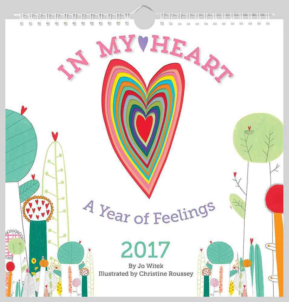 IN MY HEART WALL 2017 CALENDAR