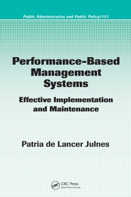 Performance-Based Management Systems