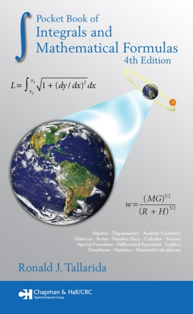 (ebook) Pocket Book of Integrals and Mathematical Formulas, 4th Edition