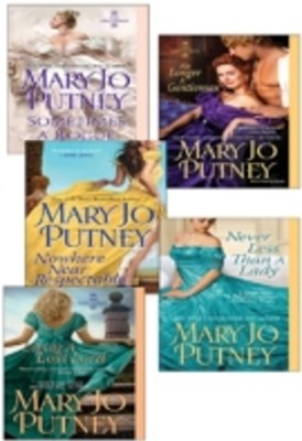 Mary Jo Putney's Lost Lords Bundle: Loving a Lost Lord, Never Less Than A Lady, Nowhere Near Respectable, No Longer a Gentleman & Sometimes A Rogue