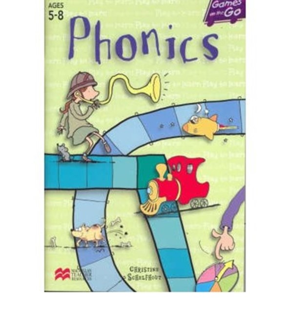 Games on the Go Phonics, Ages 5-8