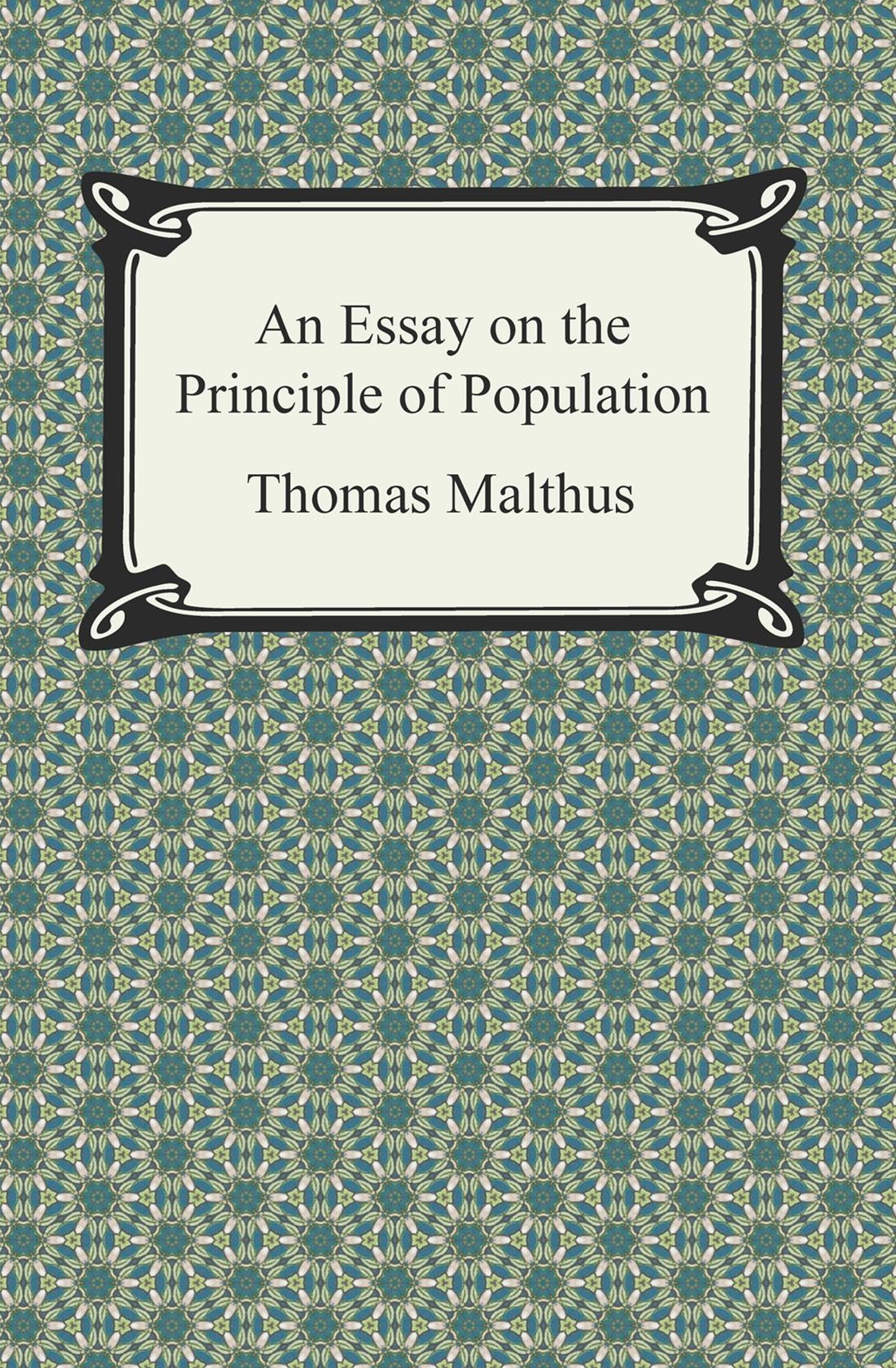 (ebook) Essay on the Principle of Population