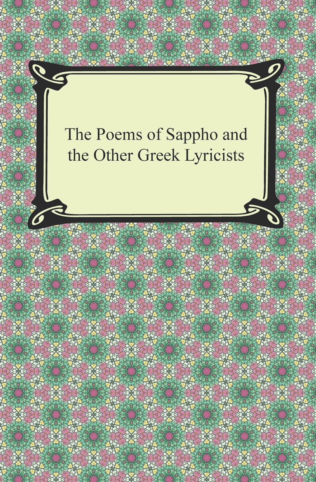 (ebook) Poems of Sappho and the Other Greek Lyricists