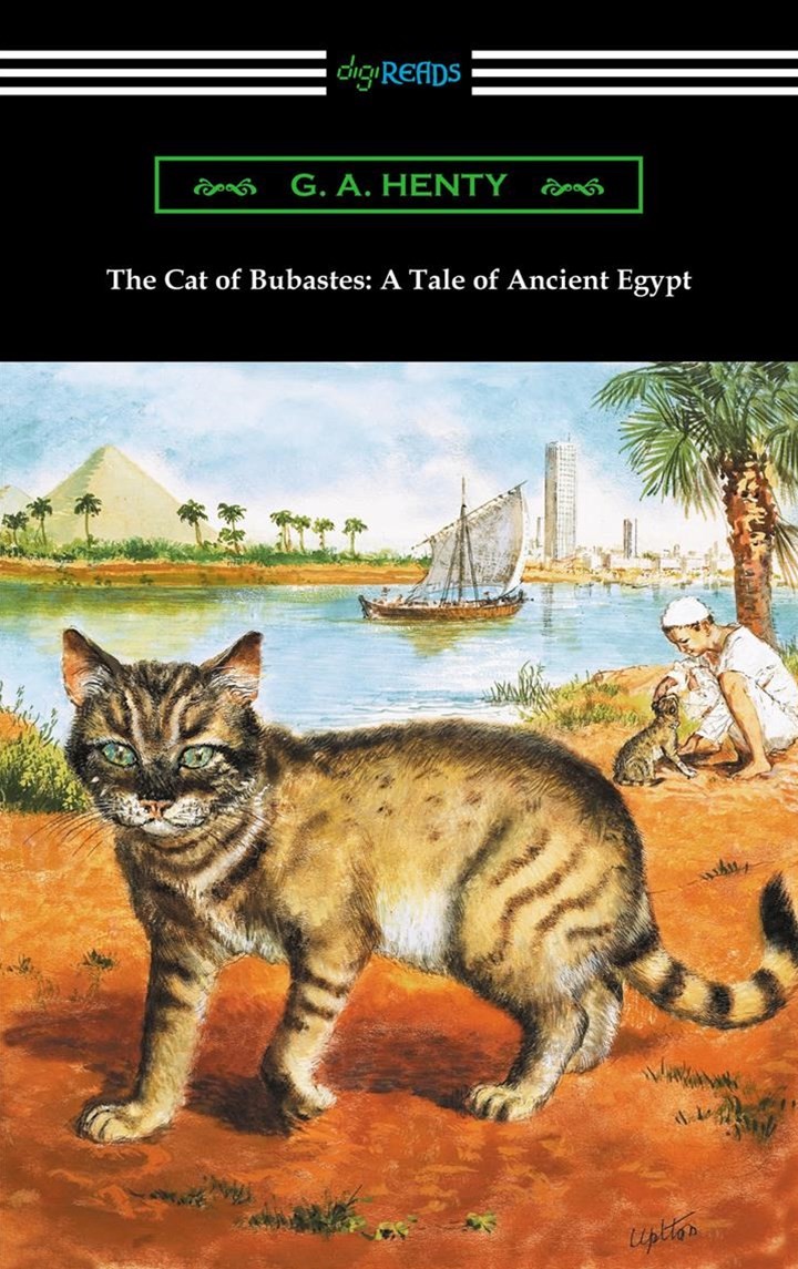 (ebook) Cat of Bubastes: A Tale of Ancient Egypt (Illustrated by John Reinhard Weguelin)