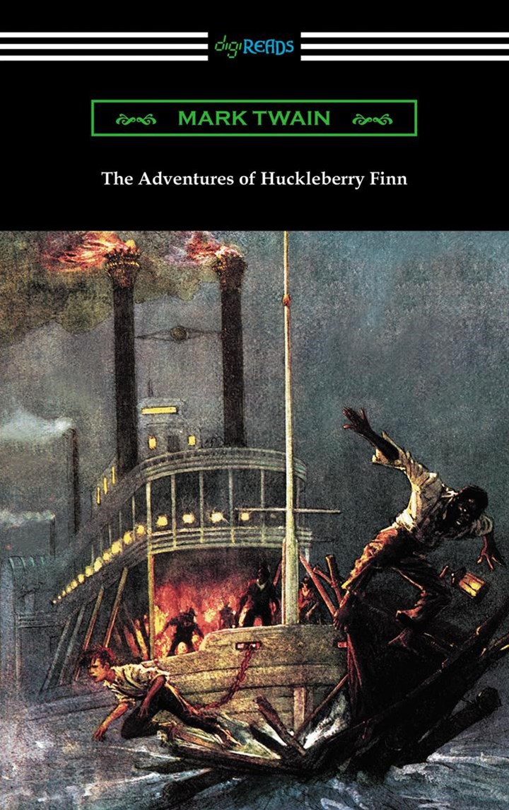 Adventures of Huckleberry Finn (with an Introduction by Brander Matthews)