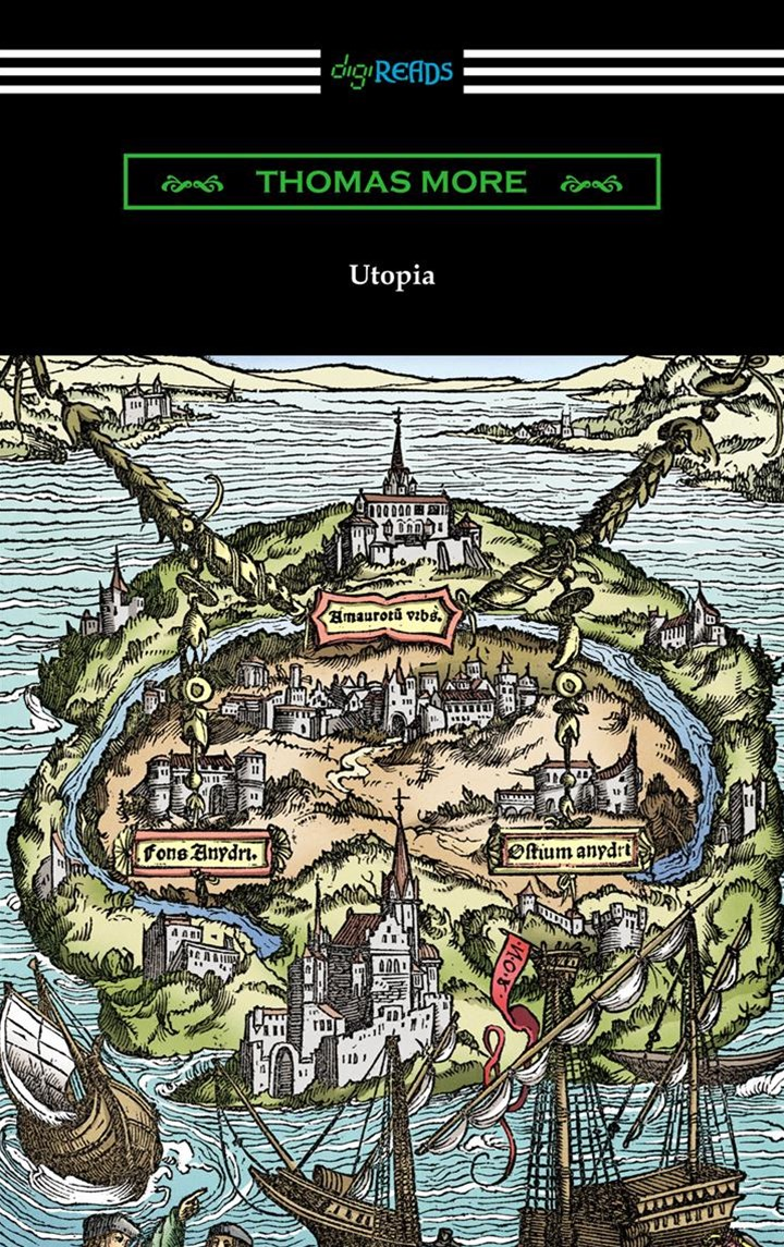 (ebook) Utopia (Translated by Gilbert Burnet with Introductions by Henry Morley and William D. Armes)