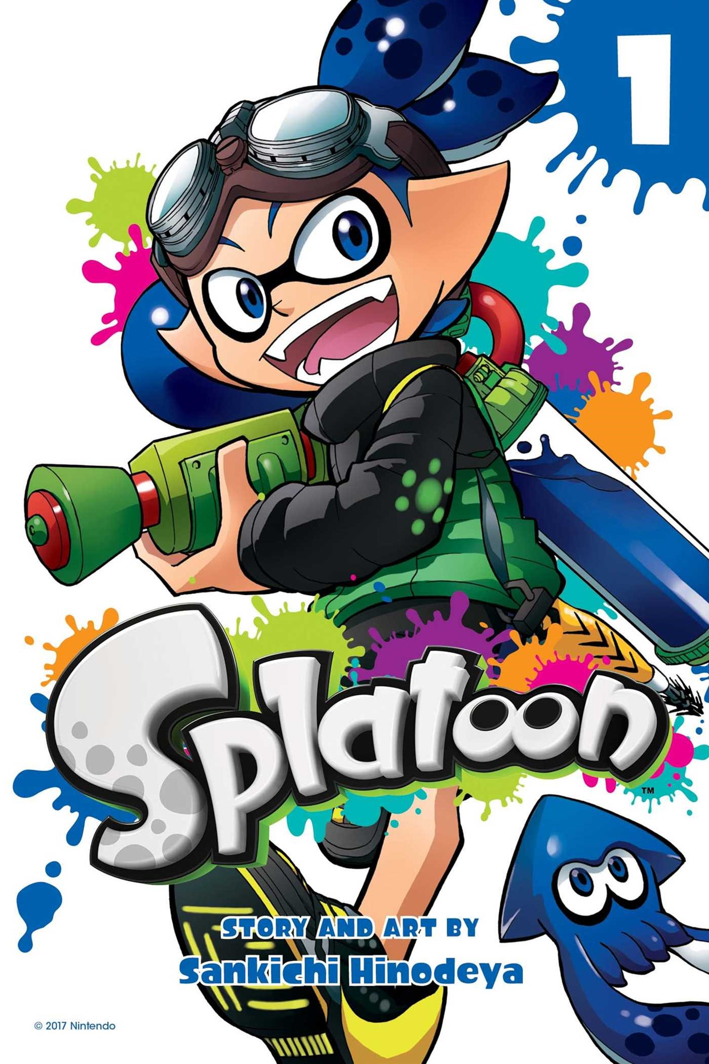 Splatoon, Vol 1