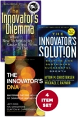 Disruptive Innovation: The Christensen Collection (The Innovator's Dilemma, The Innovator's Solution, The Innovator's DNA, and Harvard Business Review article &quote;How Will You Measure Your Life?&quote;)