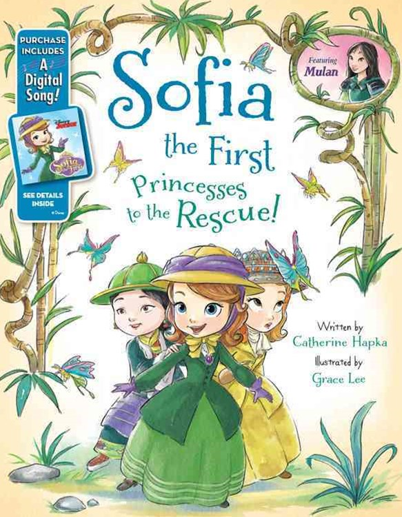 Sofia the First Princesses to the Rescue!