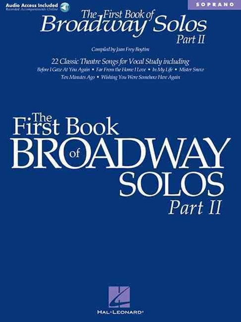 The First Book of Broadway Solos Part II