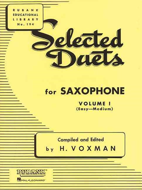 SELECTED DUETS SAXOPHONE 1