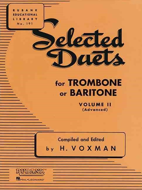 SELECTED DUETS FOR TROMBONE VOL 2