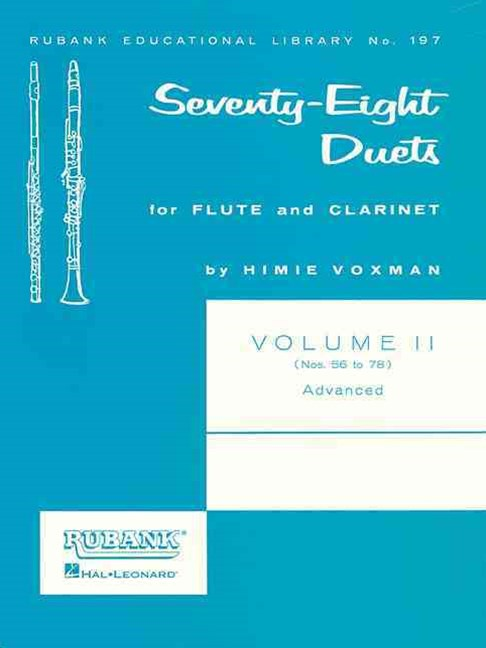 Seventy-Eight Duets for Flute and Clarinet