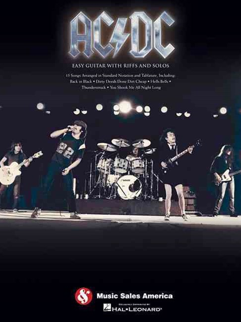 AC/DC - Easy Guitar with Riffs and Solos