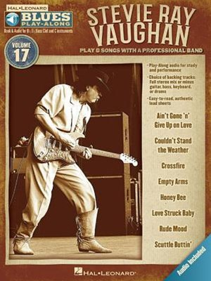 Stevie Ray Vaughan - Blues Play-Along Volume 17 (book/cd)