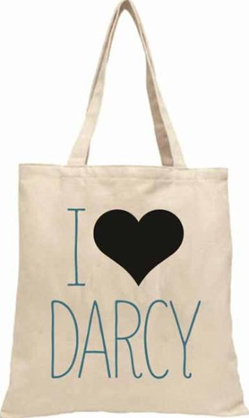 Darcy Heart TOTE FIRM SALE