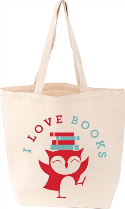 I Love Books Lovelit Totes FIRM SALE