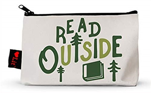 PENCIL POUCH: Read Outside by  (9781423652014) - General Merchandise - Bags & Carry Pencil Cases & Pouches