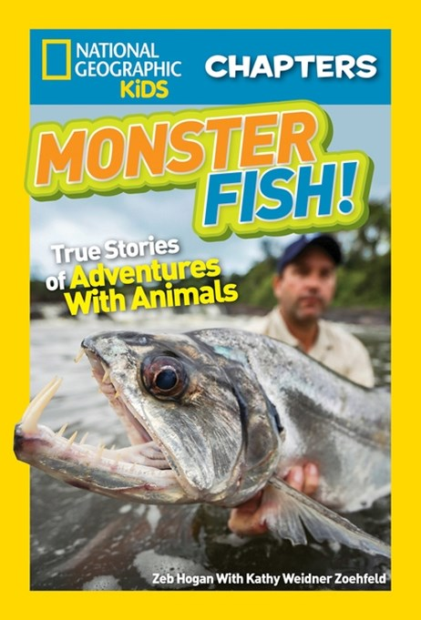 Nat Geo Kids Chapters Monster Fish!