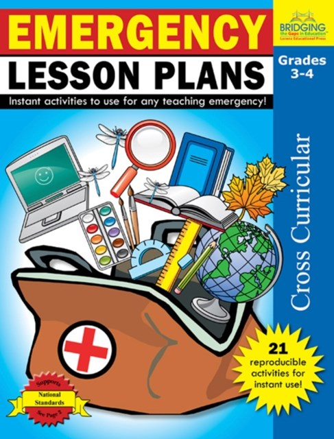 (ebook) Emergency Lesson Plans - Grades 3-4