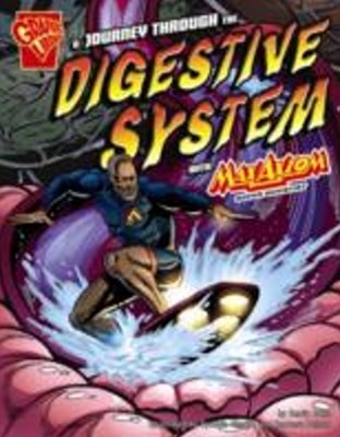 (ebook) Journey through the Digestive System with Max Axiom, Super Scientist
