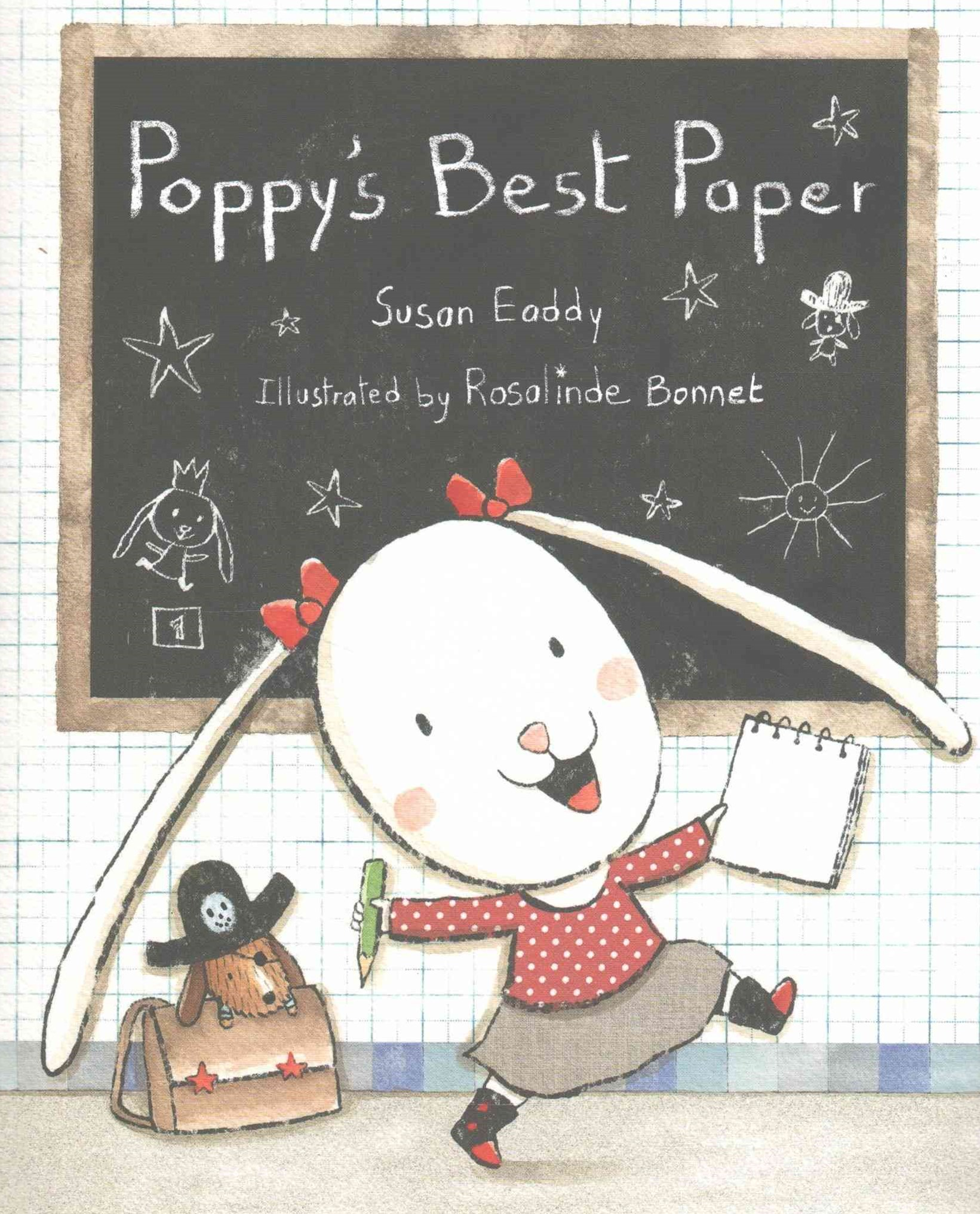 Poppy's Best Paper (1 Hardcover/1 CD)