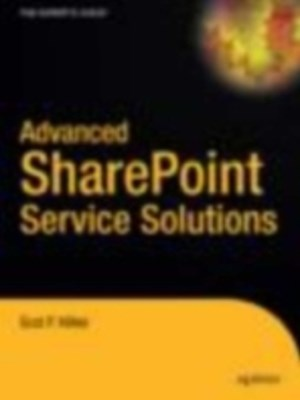 (ebook) Advanced SharePoint Services Solutions