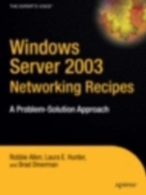(ebook) Windows Server 2003 Networking Recipes