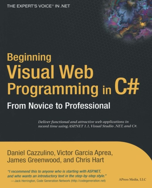 Beginning Visual Web Programming in C#