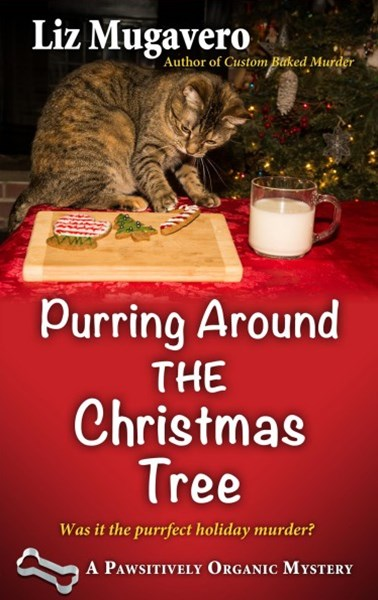 Purring Around Christmas Tree