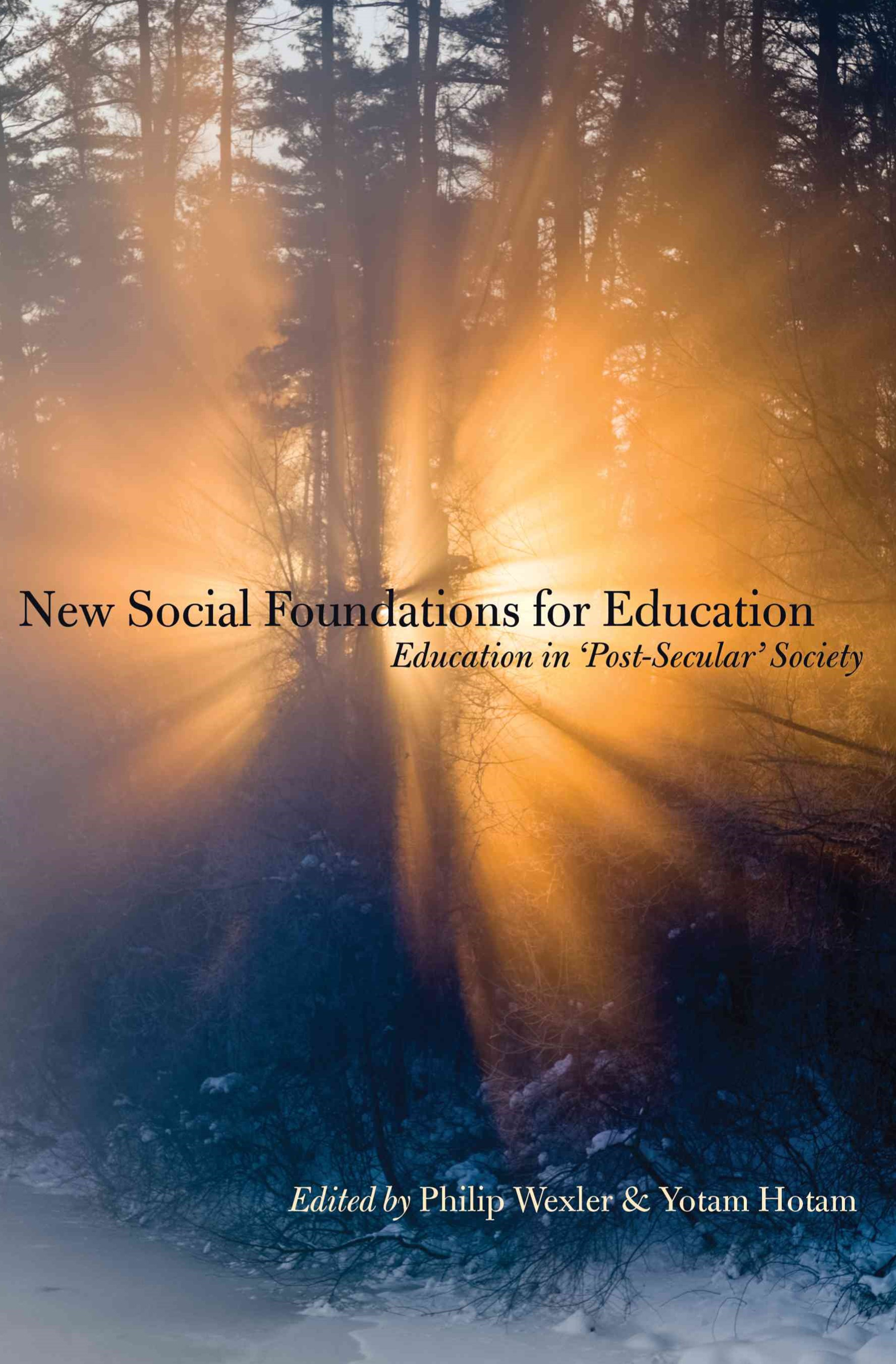 New Social Foundations for Education